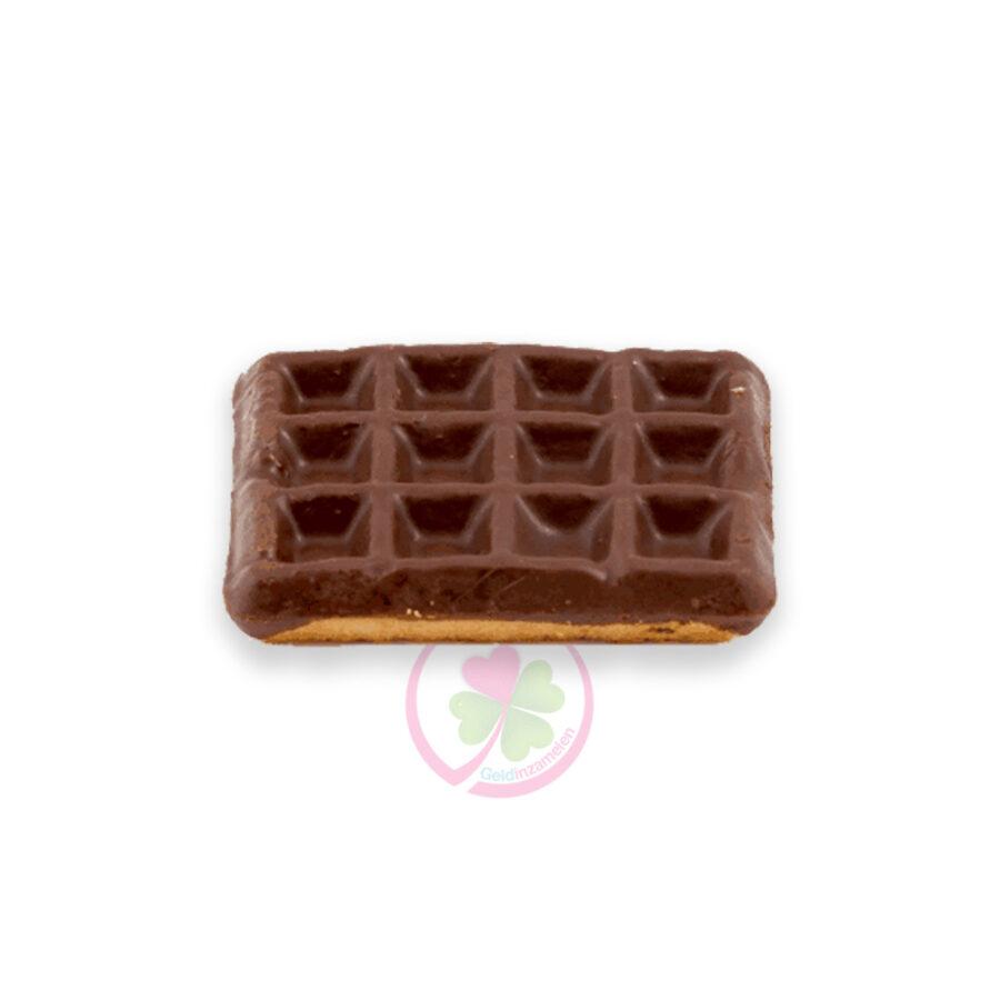 vanillewafel met chocolade