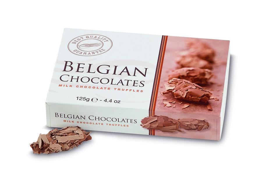chocolade truffels 125gr
